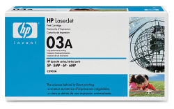 Лазерный картридж HP C3903A черный