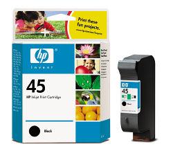 Струйный картридж HP 45 черный 51645A