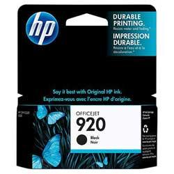 Струйный картридж HP 920 черный