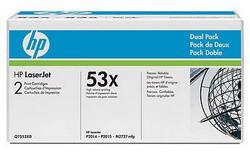 Лазерный картридж HP Q7553XD черный двойная упаковка расширенной емкости