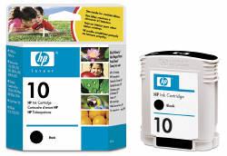 Струйный картридж HP 10 черный C4844A