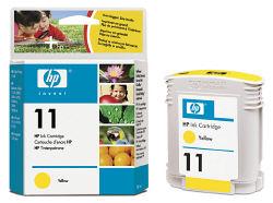Струйный картридж HP 11 желтый C4838A