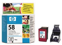 Фото-картридж HP 58 цветной