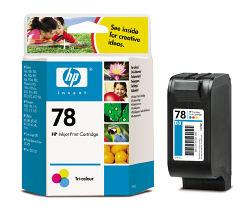 Струйный картридж HP 78 цветной C6578D
