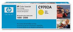 Интеллектуальный картридж HP C9702A желтый