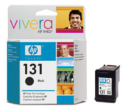 Струйный картридж HP 131 черный