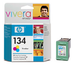 Струйный картридж HP 134 цветной