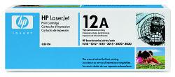 Лазерный картридж HP Q2612A черный