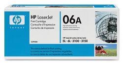 Лазерный картридж HP C3906A черный