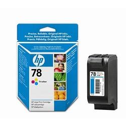 Струйный картридж HP 78 цветной