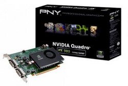 NVIDIA Quadro® FX 380 PCIE VCQFX380-PCIE-PB