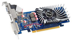GeForce 210 589 Mhz PCI-E 2.0 512 Mb 800 Mhz 64 bit DVI HDMI HDCP EN210/DI/512MD2(LP)