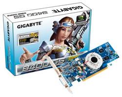 GeForce 8400 GS 450 Mhz PCI-E 2.0 512 Mb 800 Mhz 64 bit DVI HDMI HDCP GV-N84S-512I