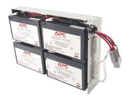 Battery replacement kit for SU1400RM2U, SU1400RMI2U RBC24