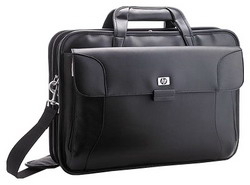 "Сумка для ноутбука HP Executive Leather Case 17"" Black"