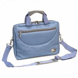 Практичная сумка для ноутбуков выполнена в строгом классическом стиле.