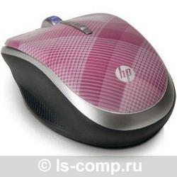 Мышь HP LG143AA Raspberry Plaid Red USB фото #1