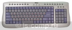 Клавиатура Dialog KP-105SU Silver USB фото #1