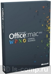 Microsoft Off Mac Home Business 1PK 2011 Russian Russia Only EM DVD No Skype W6F-00232 фото #1