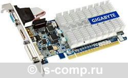 Видеокарта Gigabyte GeForce 210 520Mhz PCI-E 2.0 1024Mb 1200Mhz 64 bit DVI HDMI HDCP GV-N210SL-1GI фото #1