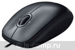 Мышь Logitech Mouse M100 Black USB 910-001604 фото #1