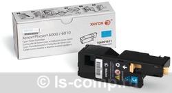 Картридж Xerox 106R01631 голубой фото #1