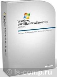 Microsoft Win Small Bus Svr Std 2011 64Bit Russian 1pk DSP OEI DVD 1-4CPU 5 Clt T72-02889 IN PACK фото #1