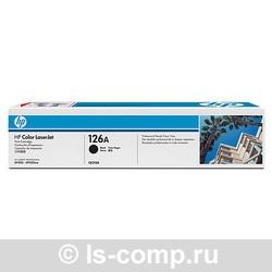 Лазерный картридж HP CE310A черный фото #1