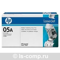 Лазерный картридж HP CE505A черный фото #1