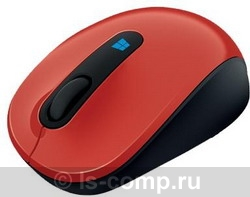 Мышь Microsoft Sculpt Mobile Mouse Red USB 43U-00026 фото #1