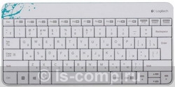 Комплект клавиатура + мышь Logitech Wireless Combo MK240 White USB 920-005791 фото #1