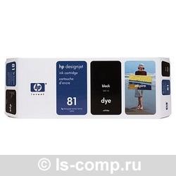 Струйный картридж HP 81 черный C4930A фото #1
