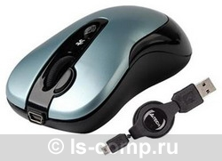 Мышь A4 Tech K4-61X-3 Blue USB фото #1