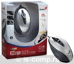 Мышь Genius Ergo 523 Laser Grey USB GM-Ergo 523 фото #1