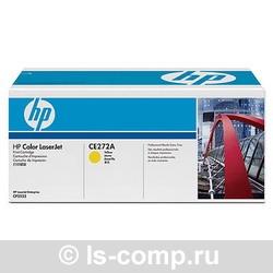 Лазерный картридж HP CE272A желтый фото #1