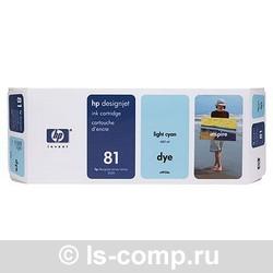 Струйный картридж HP 81 светло-голубой C4934A фото #1