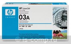 Лазерный картридж HP C3903A черный фото #1