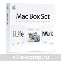 Apple Mac Box Set Retail v10.6.3 MC581RS/A фото #1