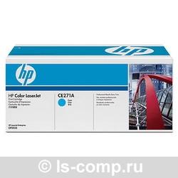 Лазерный картридж HP CE271A голубой фото #1