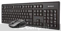 Комплект клавиатура + мышь A4 Tech 7100H DustFree HD Mouse Wireless Desktop Black USB фото #1