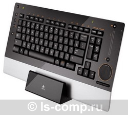 Клавиатура Logitech diNovo Edge Black USB 967685-0112 фото #1