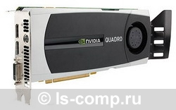 Видеокарта HP Quadro 6000 574Mhz PCI-E 2.0 6144Mb 3000Mhz 384 bit DVI WS097AA фото #1