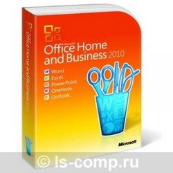 Microsoft Office Home and Business 2010 32-bit/x64 Russian T5D-00415 фото #1