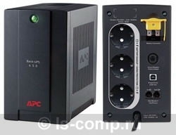 ИБП APC BACK-UPS RS 650VA 230V WITHOUT COMMUNICATION RUSSIAN BX650CI-RS фото #1