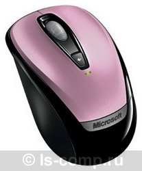 Мышь Microsoft Wireless Mobile Mouse 3000 Pink USB 6BA-00042 фото #1