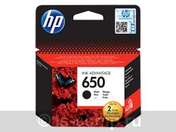 Струйный картридж HP 650 черный CZ101AE фото #1