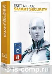 ESET NOD32 Smart Security+ Bonus + расширенный функционал -универсальная лицензия на 1 год на 3ПК или продление на 20 месяцев NOD32-ESS-1220(BOX)-1-1 фото #1