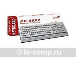 Клавиатура Genius KB06X2 Black PS/2 G-KB06X2 PS/2 фото #1
