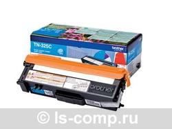 Тонер-картридж Brother TN-325C голубой расширенной емкости TN325C фото #1