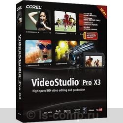 Corel VideoStudio Pro X3 VSPRX3RU фото #1